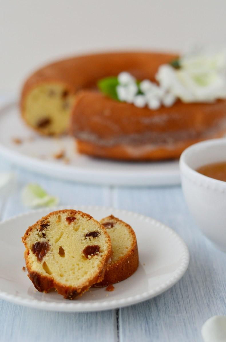 """italská bábovka s ricottou """"Ciambella à la ricotta"""" chutí i receptem připomíná naší tvarohovou bábovku"""