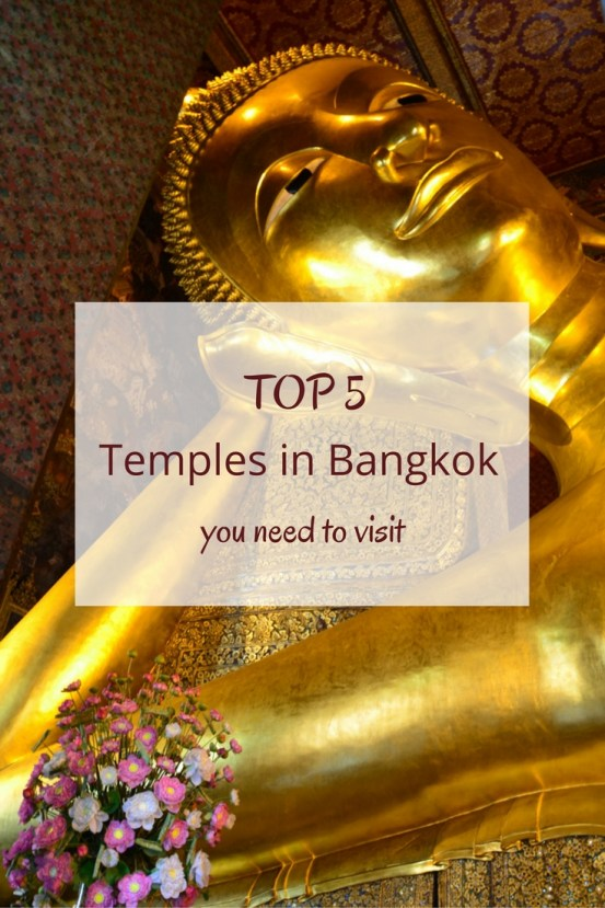 Bangkok is a city with hundreds of Buddhist temples. Here is a list of 5 temples in Bangkok worth visiting and that you shouldn't miss!