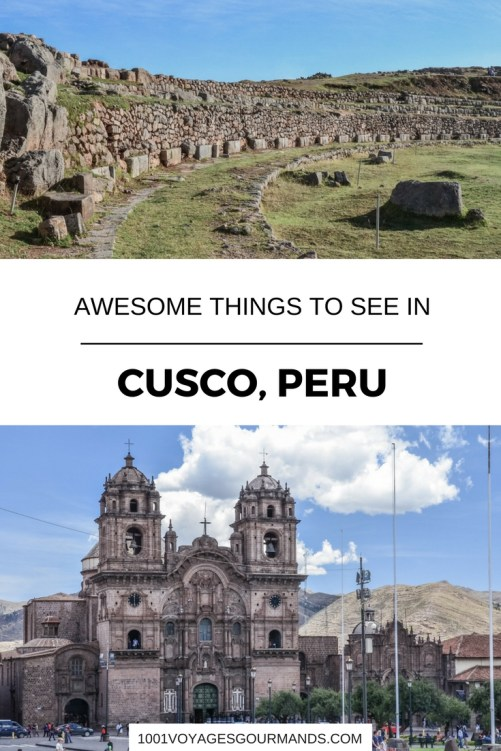 Here are some ideas of what to see in Cusco and its environment such as the ruins around Cusco which are worth seeing.