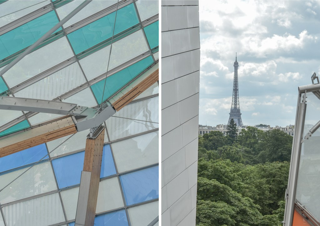 Louis Vuitton Foundation is a new museum of modern art and a masterpiece of modern architecture that you must visit once in Paris!
