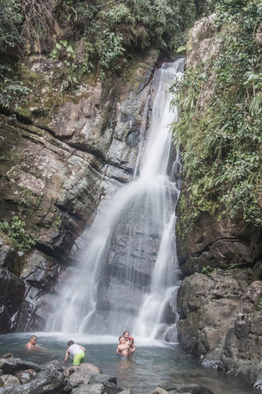La Mina Falls, El Yunque