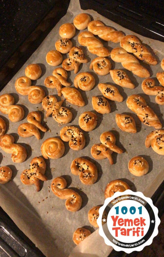 Pastane Usulü Tuzlu Kurabiye Tarifi-nasıl yapılır