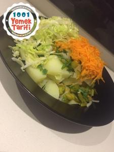 Patates Salatası Tarifi-nasıl yapılır-kaç kalori