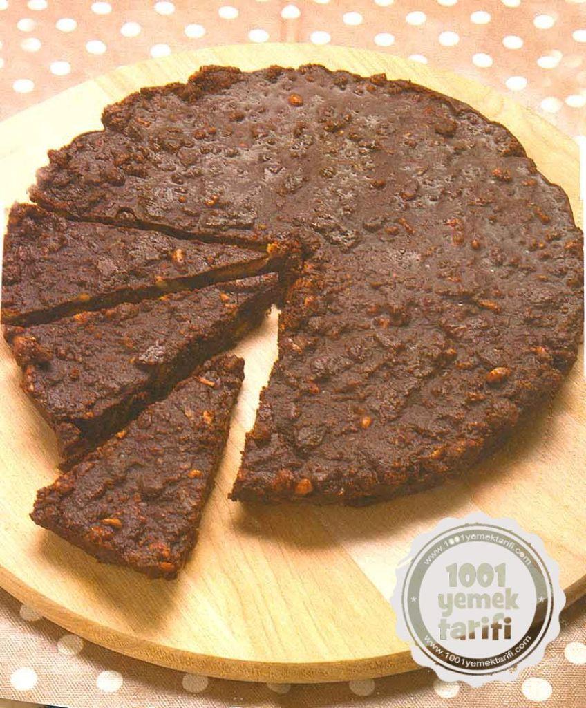 Mozaik Pasta Tarifi-uzumlu kek pasta-Cevizli Mozaik Pasta Yapimi-kolay pratik nefis resimli tatli tarifi-1001yemektarifi