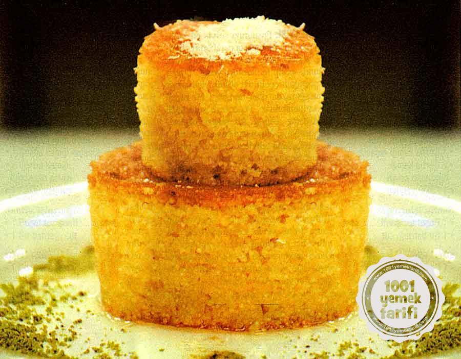 Nefis Revani Tarifi-Mandalinali Revani yapimi-kac kalori ve besin degerleri-resinli yemek tarifi-kolay pratik-1001yemektarifi