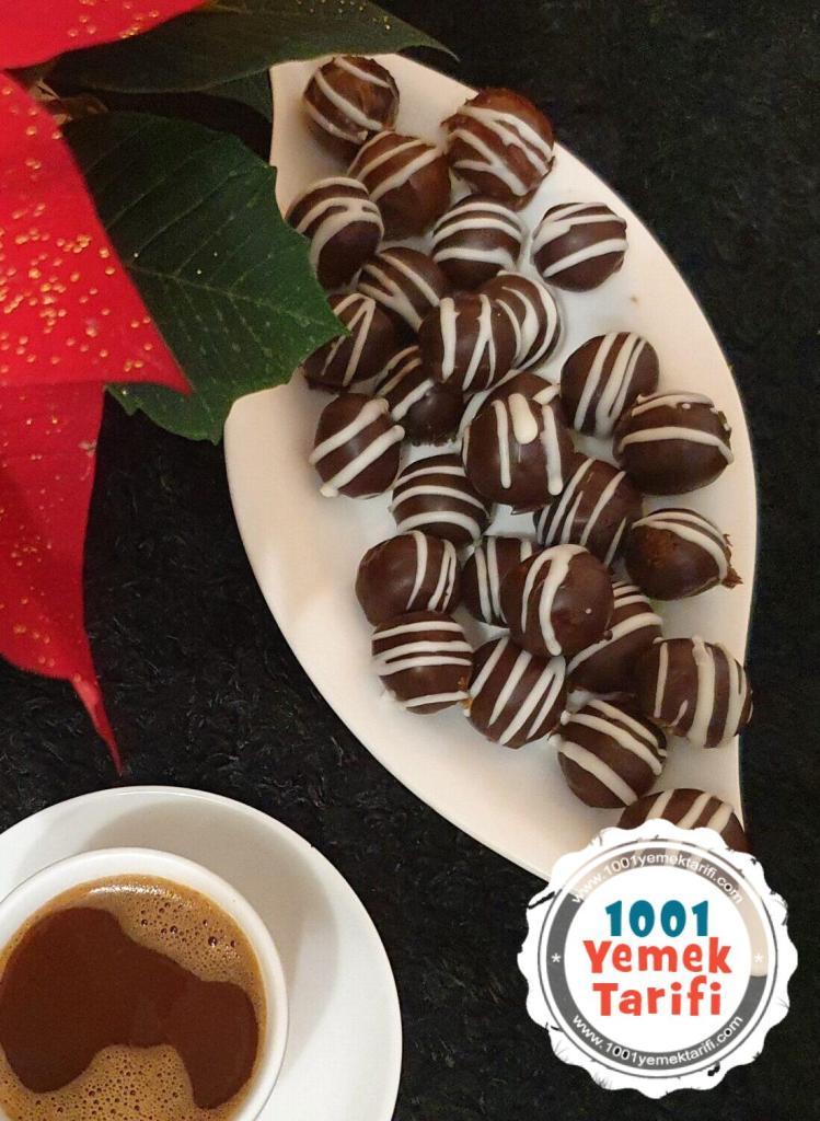 Çikolata Topları tarifi Nasıl Yapılır yapımı