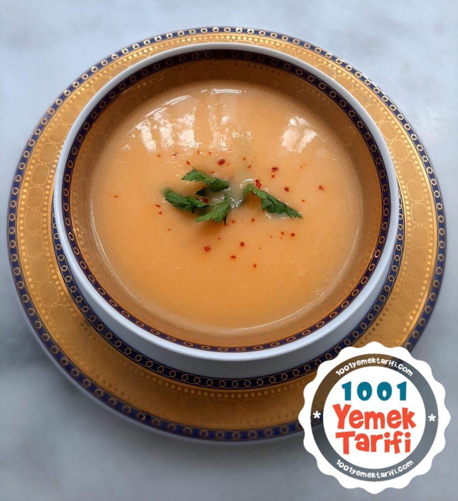 Tavuk sulu kereviz çorbası tarifi