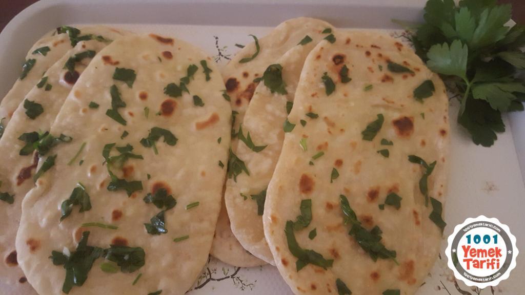 Garlic Naan (sarımsaklı hint ekmeği) nasıl yapılır