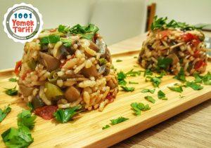 Mantar Soteli Pirinç Pilavı Tarifi nasıl yapılır-kaç kalori