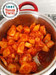 Sulu Patates Tarifi nasıl yapılır-kaç kalori
