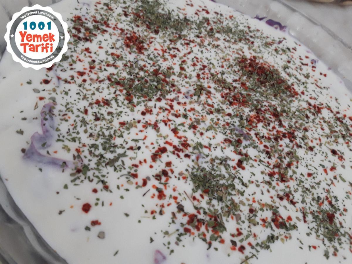 Mor Kelem (lahana) Salatası Nasıl Yapılır