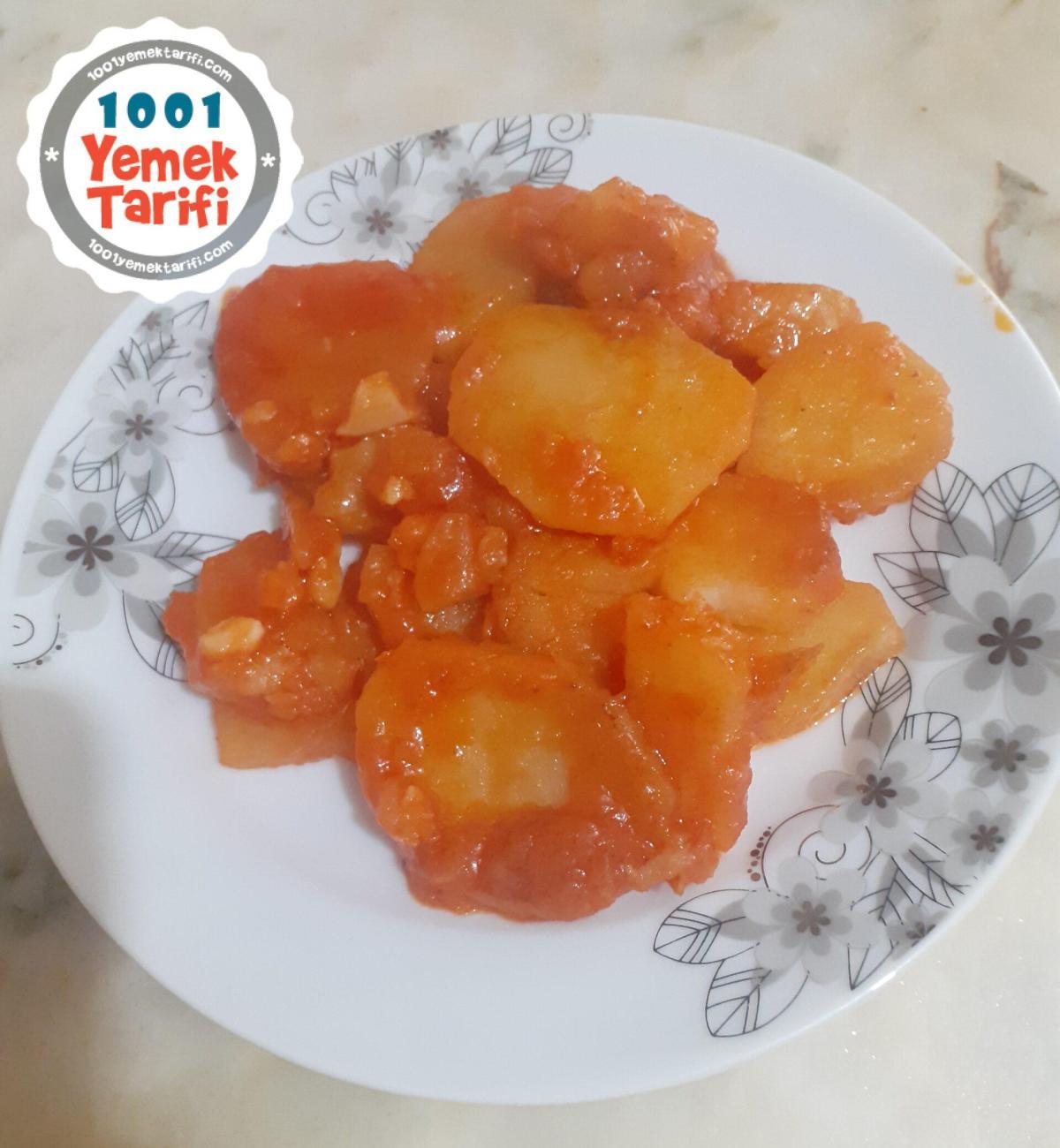 Patates Oturtma Tarifi-nasıl yapılır