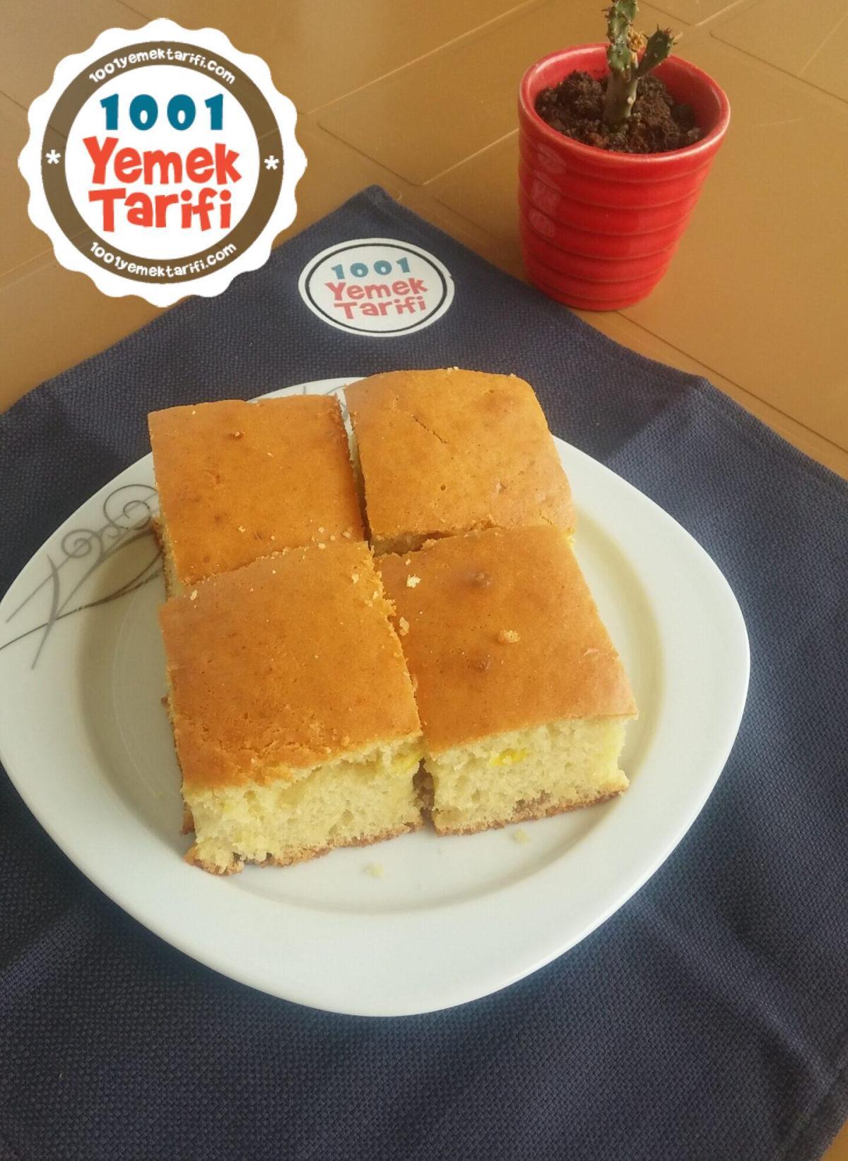 Limonlu Üzümlü Kek Tarifi-nasıl yapılır-kaç kalori