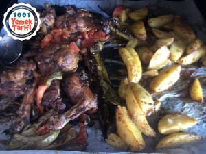 fırında ızgara tavuk patates tarifi