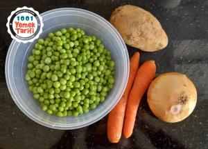Sebzeli Bezelye Yemeği Tarifi