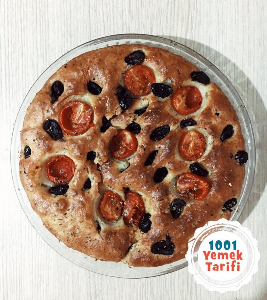 Focaccia Ekmek Tarifi-focaccia ekmeği nasıl yapılır-kaç kalori