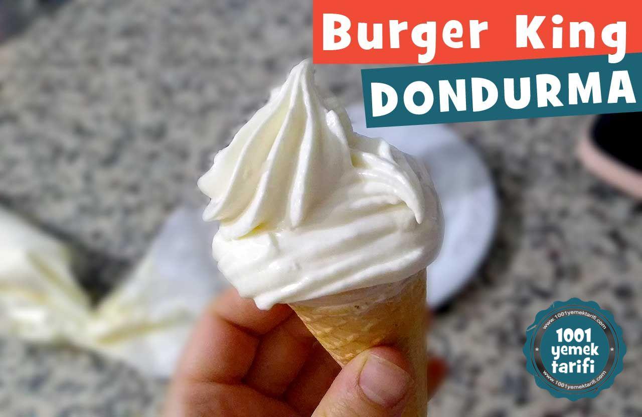 Evde Burger King Dondurma Tarifi Videosu-evde kolay-mcdonalds dondurmasi nasil yapilir yapimi-kac kalori-nefis-1001yemektarifi