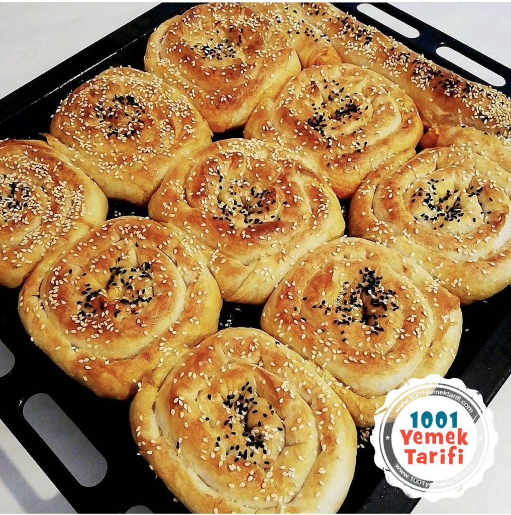 kolay gül böreği tarifi nasıl yapılır kac kalori 1001yemektarifi