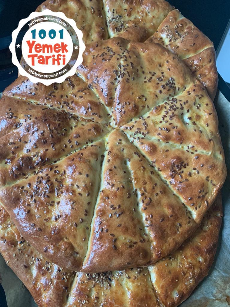 ev yapımı pide kıvamında ekmek tarifi