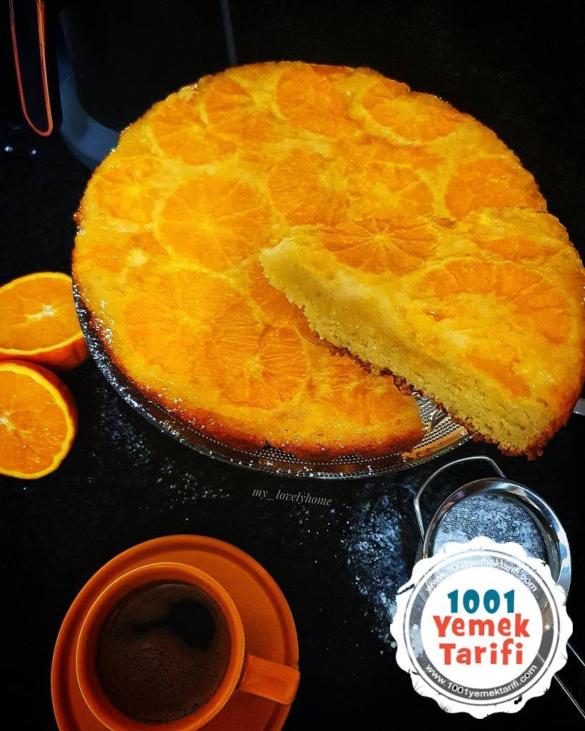 Nefis Portakallı Kek Tarifi (nasıl yapılır-kaç kalori)