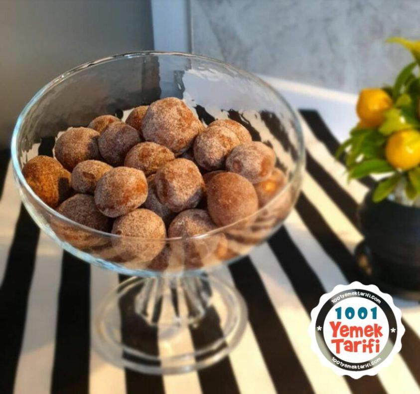 Tarçınlı Kurabiye topları Tarifi-nasıl yapılır-kaç kalori