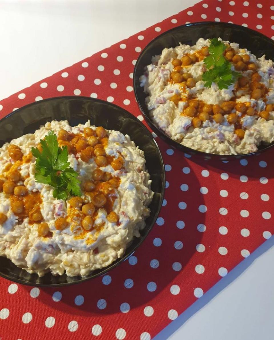 Şehriyeli Patlıcan Salatası Tarifi-nasıl yapılır