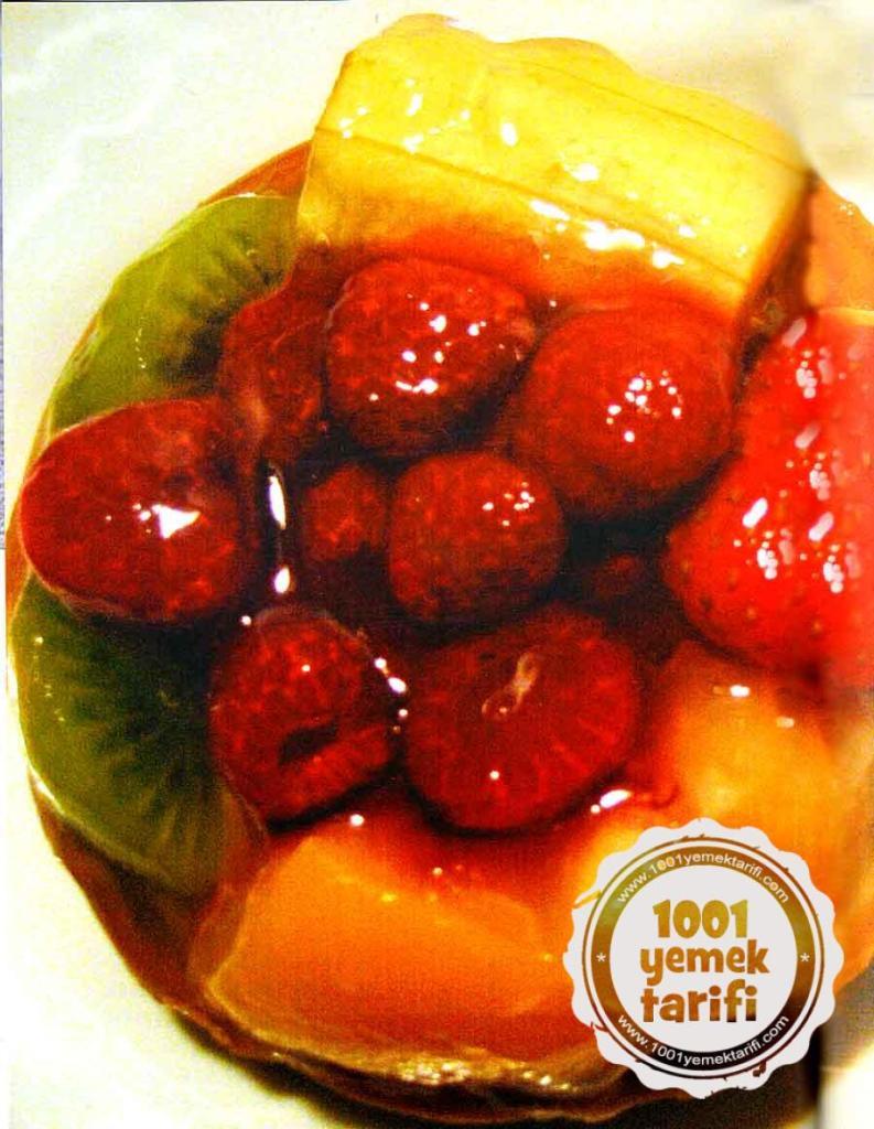 Nefis Turta Tarifi-Meyveli Tart Nasil Yapilir-kac kalori-kolay turta tatlisi tarifleri-1001yemektarifi