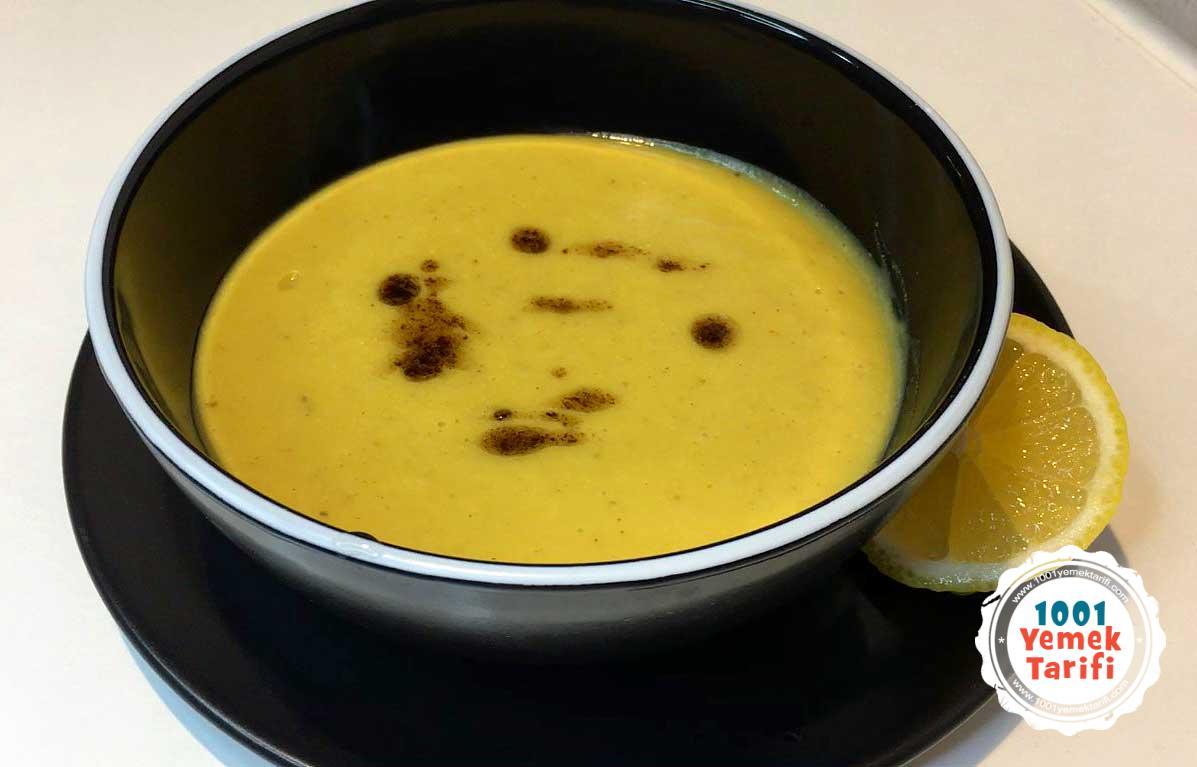 Zerdeçallı Mercimek Çorbası Tarifi (nasıl yapılır-kaç kalori)