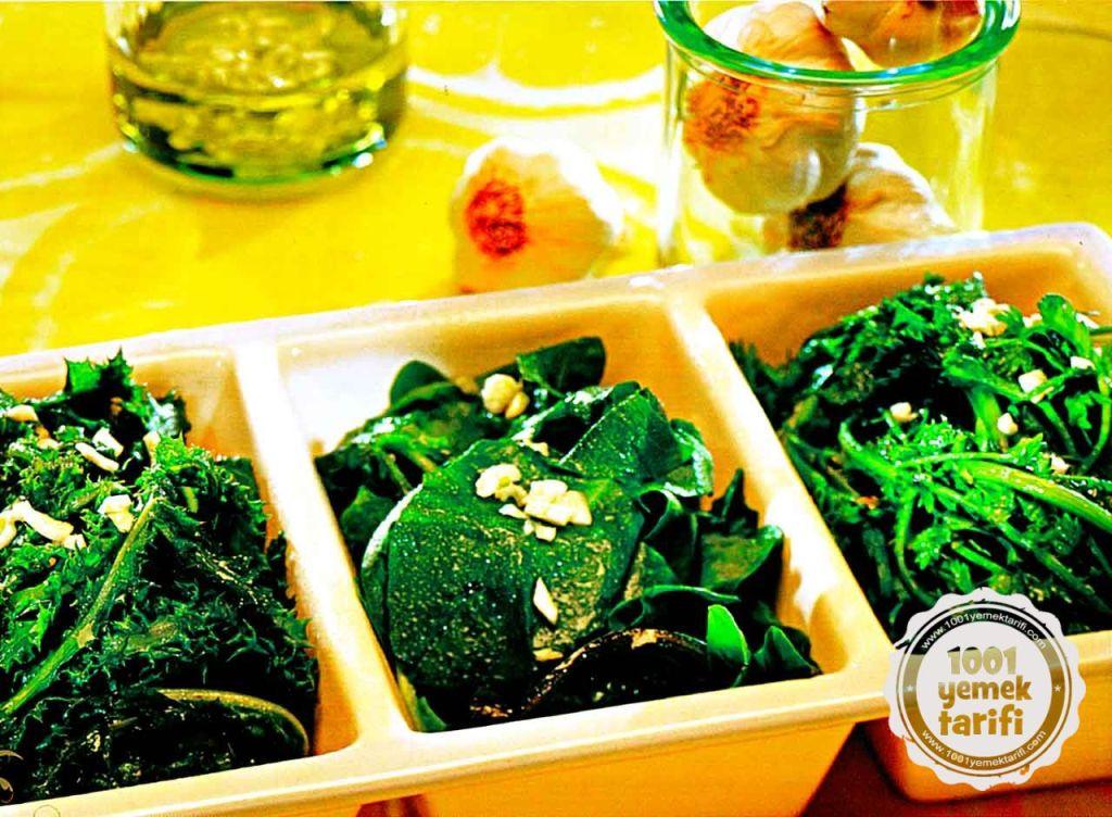 bahar salatası tarifi ayvalık yöresi mutfağı diyet salatası vejeteryan