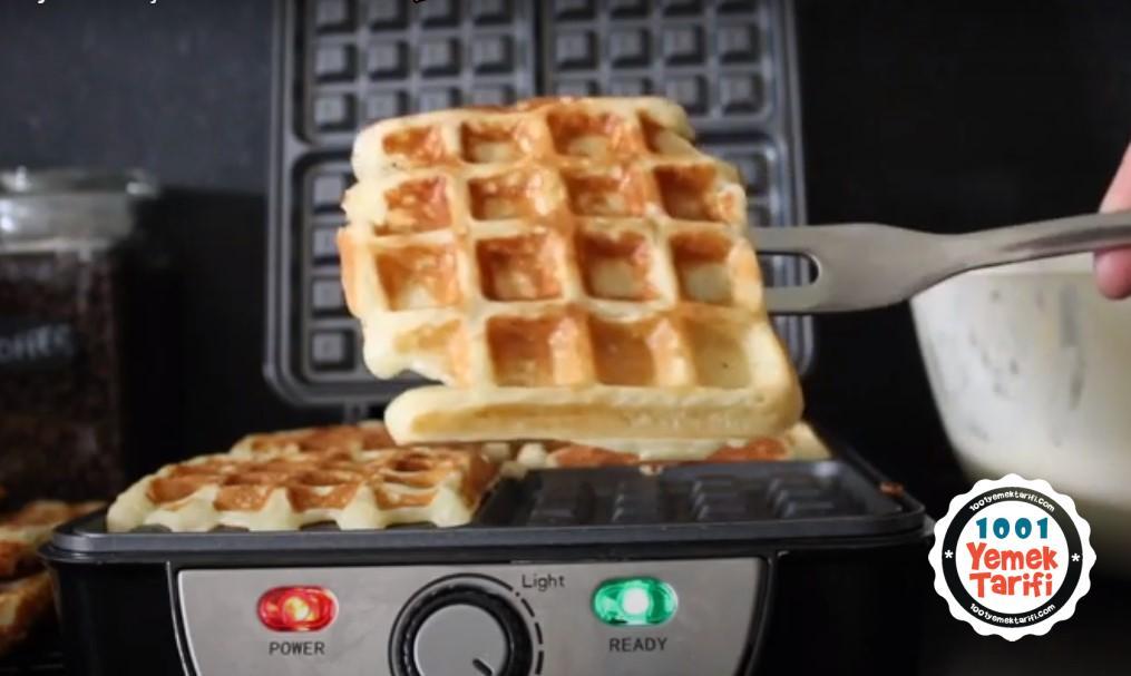 belçika usulü waffle tarifi