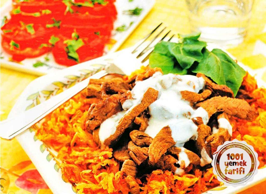 cokertme Kebabi Tarifi-Bodrum Etli cokertme Kebabi Nasil yapilir-kac kalori