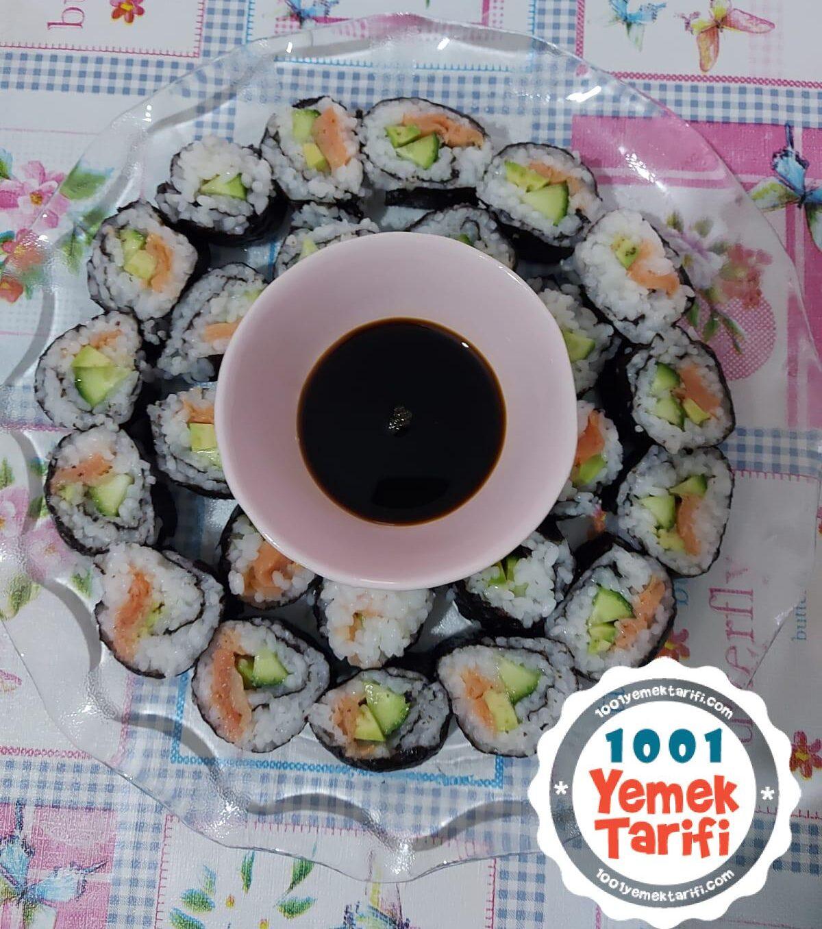ev yapımı Kolay Sushi Tarifi