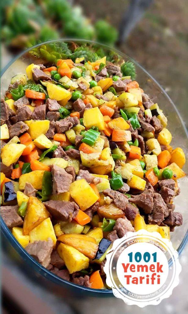 firinda sebzeli et yemegi tarifi-yapimi-nasil yapilir-1001yemektarifi
