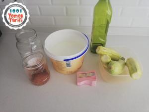 Yoğurtlu Kabak Spagetti Tarifi