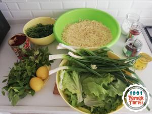 Kısır Tarifi (nasıl yapılır-kaç kalori)