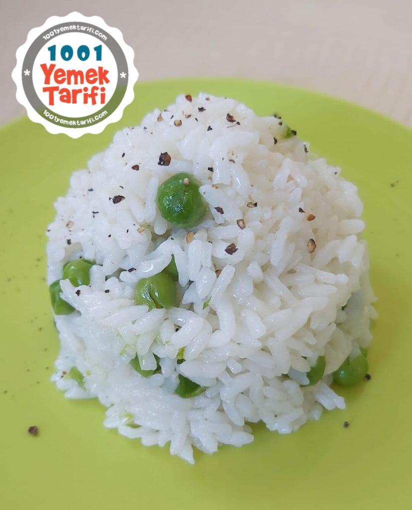 Bezelyeli Pilav Tarifi nasıl yapılır-kaç kalori
