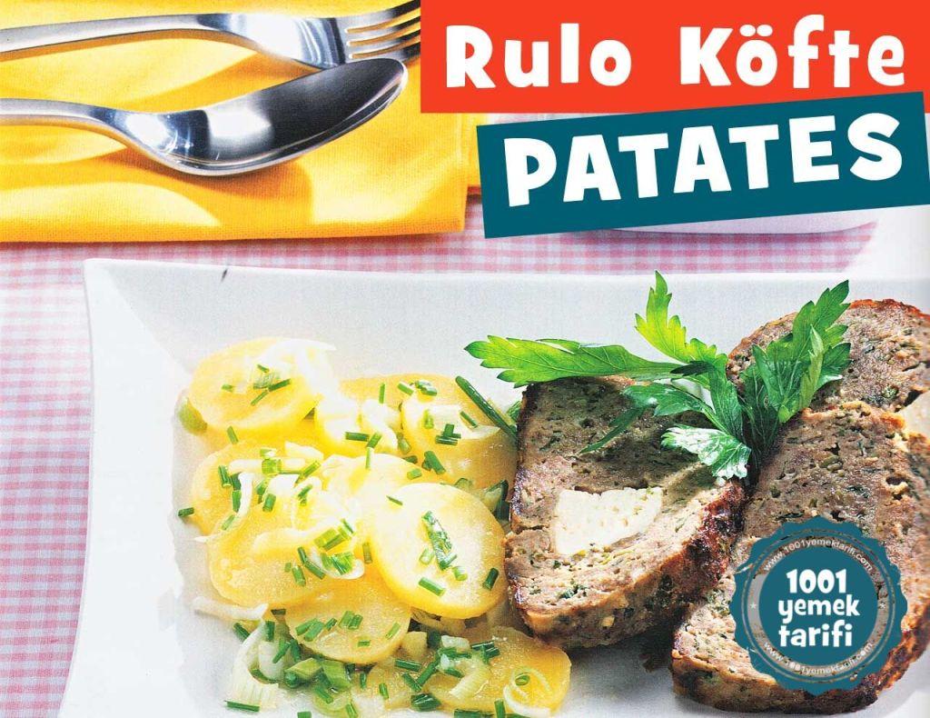 rulo-kofte-ve-patates-salatasi-yapimi-menu-tarifi-kolay ev yapimi-kac kalori-nefis-nasil yapilir-1001yemektarifi