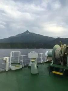 フェリーから利尻島、そして利尻山