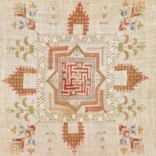 Os armênios de Marash têm seu próprio estilo tradicional de bordado