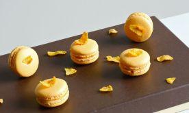 Sweet Corn Macarons