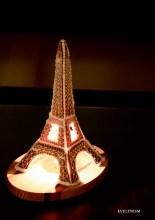 Gingerbread Eiffel Tower Night