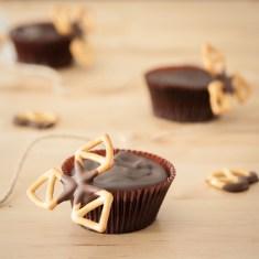 Chocolate Pretzel Cupcakes