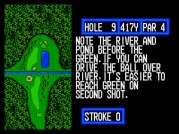 Again, more water hazards you need to shoot over.