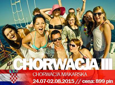 Studencka Impreza w Chorwacji III