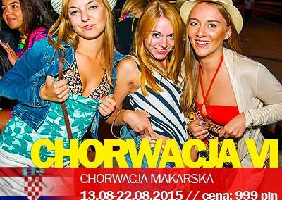 Studenckie wyjazdy – Chorwacja Makarska VI