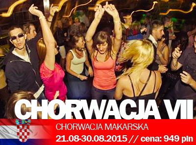 Obóz w Chorwacji – impreza nr VII