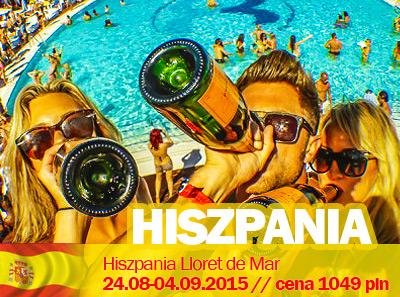 Studenckie wakacje w Hiszpanii