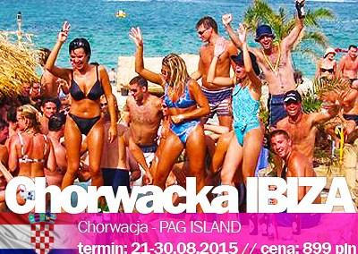 Ostra impreza w Chorwackiej Ibizie