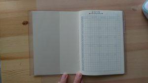 MDノートライト 手帳