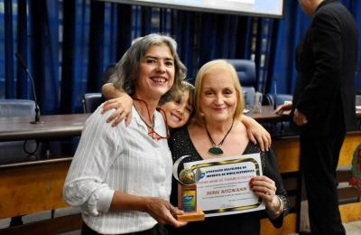 As jornalistas Bebel Ritzmann e Vera Tabach - Foto: Divulgação
